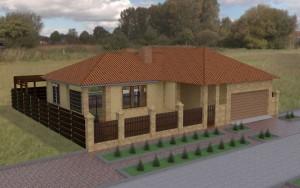 Готовый проект дома в Совиньоне