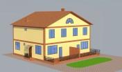 Проектирование блокированного дома в Одессе