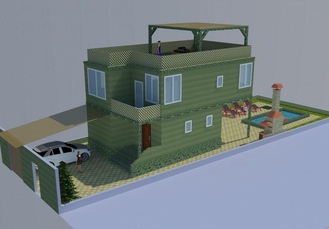Проектирование дома в Крыму