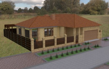 Проектирование дома в Совиньоне