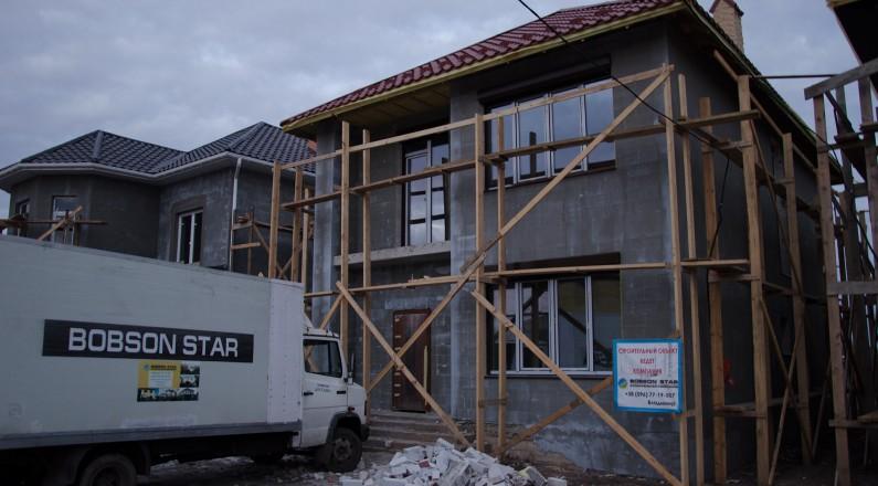 Строительство частного дома в Черноморке